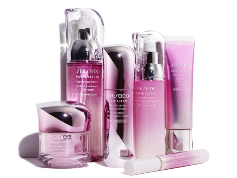 Pink colour- shiseido