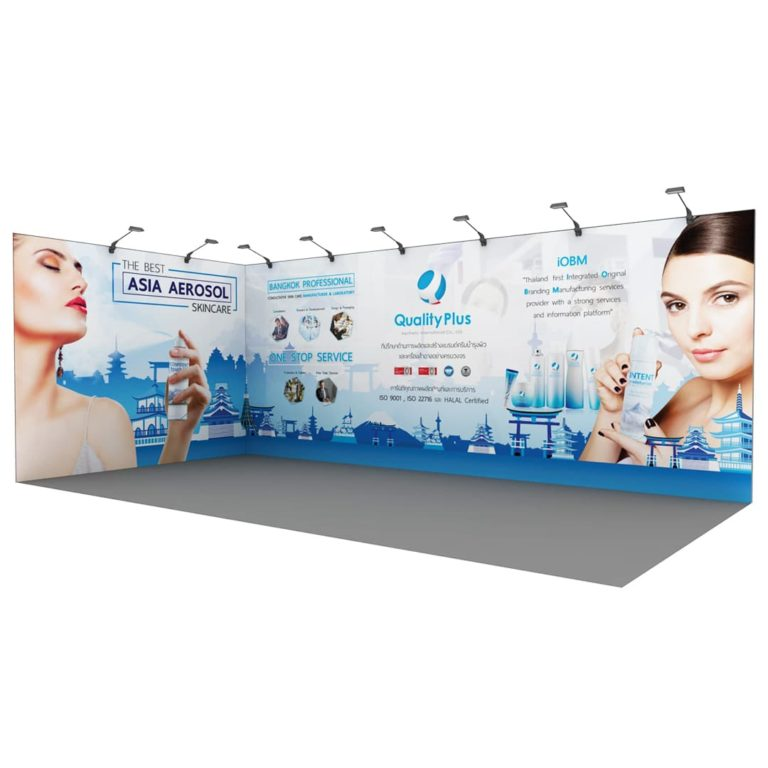 Standee design for Skincare and Cosmetics